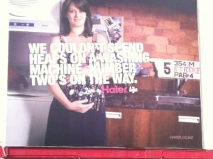 Haier Billboard