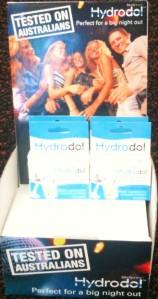 Hydrodol Pint of Sale Display